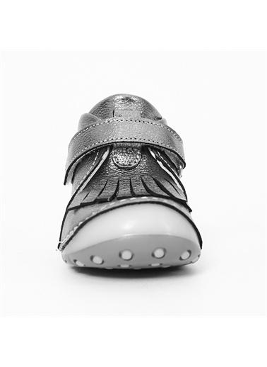 Panço Kız Bebek Ayakkabı 19242187216 Gri